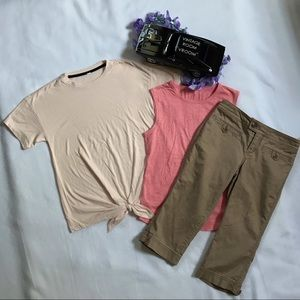 Old Navy NWOT Capri and Shirts Outfit for Girls